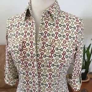 J McLAUGHLIN HORSEBIT SHIRT DRESS